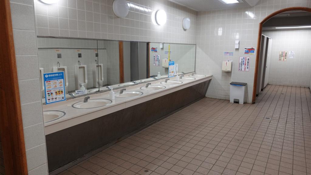 道の駅あわじの手洗い場