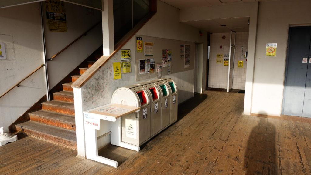 道の駅東浦ターミナルパークのゴミ箱