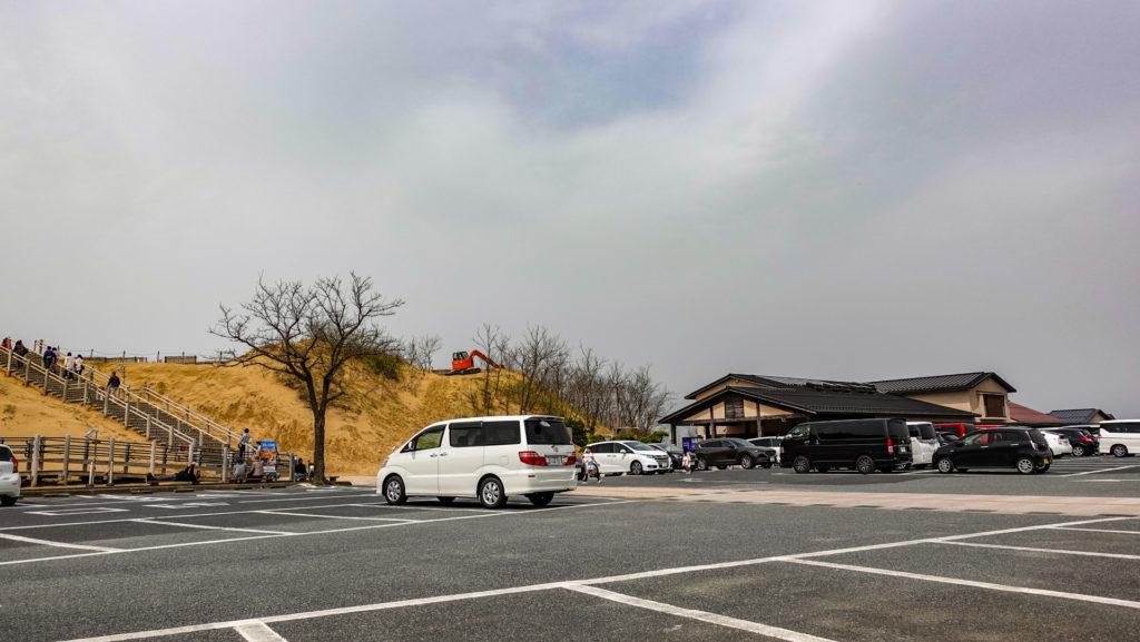 鳥取砂丘有料駐車場